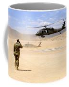 Brigade Aviation Officer Salutes Coffee Mug