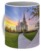 Brigham City Sunset Coffee Mug