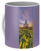 Brigham City Temple Vertical Panorama Coffee Mug
