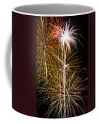 Bright Bursts Of Fireworks Coffee Mug