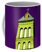 Bright Cross Tower Coffee Mug