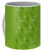 Bright Green Fractal Coffee Mug