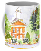 Bright Morning At The Courthouse Coffee Mug