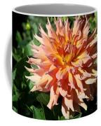 Bright Peachy Star Coffee Mug