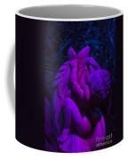 Bright Purple Cupid Coffee Mug