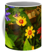 Bright Yellow Flowers Coffee Mug