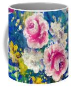 Brightly Floral Coffee Mug