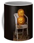 Brightly Lit Jack O Lanterns Coffee Mug