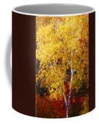 Brilliance Of Autumn On Rib Mountain Coffee Mug