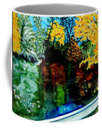 Brilliant Mountain Colors In Reflection Coffee Mug
