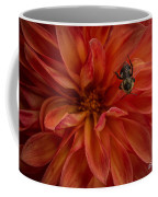 Brilliant Red Dahlia Coffee Mug