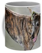 Brindle Greyhound Dog Usa Coffee Mug