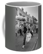 Bringing Up The Rear Monochrome Coffee Mug