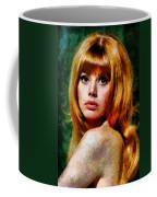 Brit Ekland - Abstract Expressionism Coffee Mug