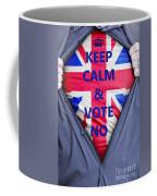 British Businessman Votes No Coffee Mug