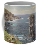 British Coastal View. Coast Of Cornwall Coffee Mug