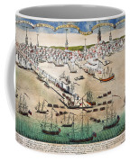 British Landing, 1768 Coffee Mug
