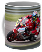 British Superbike Rider Barry Burrell   Coffee Mug