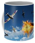 British Supermarine Spitfires Battle Coffee Mug