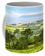 Brittany Landscape With Ocean View Coffee Mug by Elena Elisseeva
