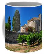 Brittany Vineyard And Monastery  Coffee Mug