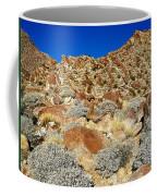 Brittlebush Leaves And Santa Rosa Mountains From Borrego Palm Canyon In Anza-borrego Desert Sp-ca Coffee Mug