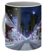 Broad Street At Night Coffee Mug