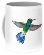 Broadbilled Fan Tail Hummingbird Coffee Mug