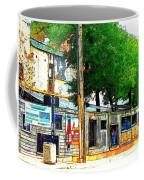 Broadway Oyster Bar With A Boost Coffee Mug