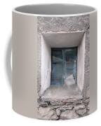 Broken Antique Window Coffee Mug