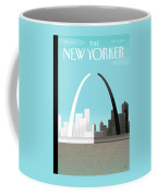 Broken Arch. A Scene From St. Louis Coffee Mug