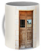 Broken Door Coffee Mug