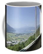 Broken Windows With Panoramic View Coffee Mug