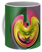 Bromiliad Abstract Coffee Mug