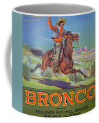 Bronco Oranges Coffee Mug by American School