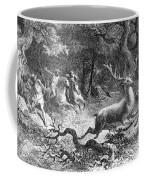 Bronze Age, Hunting Scene Coffee Mug