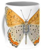 Bronze Copper Butterfly Coffee Mug