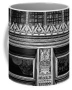 Bronze Crowns In Black Coffee Mug