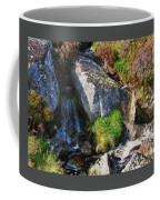 A Brook In The Wicklow Mountains, Ireland Coffee Mug