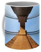 Brooklyn Bridge Abstract Coffee Mug