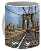 Brooklyn Bridge At Dusk Coffee Mug