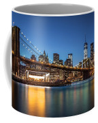 Brooklyn Bridge At Dusk Coffee Mug