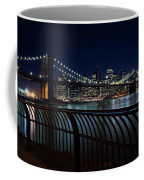 Brooklyn Bridge At Night Coffee Mug