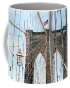 Brooklyn Bridge Cables Coffee Mug