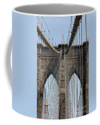 Brooklyn Bridge Cables Nyc Coffee Mug