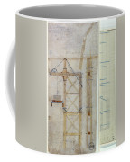 Brooklyn Bridge: Diagram Coffee Mug by Granger