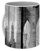 Brooklyn Bridge New York City Usa Coffee Mug