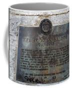 Brooklyn Bridge Plaque Coffee Mug