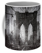 Brooklyn Bridge Snow Day Coffee Mug