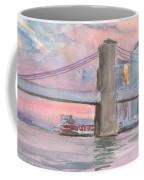 Brooklyn Bridge Sunset 2013 Coffee Mug
